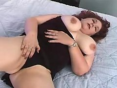 This fatty knows how to handle cock busty fats