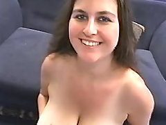 Fatty gets pearl sperm on mellons busty fats