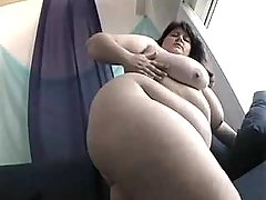Gorgeous fatty with big round butt busty fats