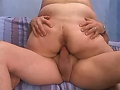 Breasty plump mummy fucks with dude busty fats