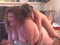 Huge housewife screwed by boyfriend